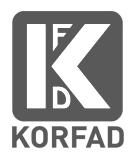 Купить межкомнатные двери Корфад в Днепропетровске.